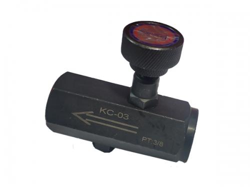 上海节流阀KC-03
